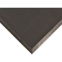 Nortrax Rubber Brush Entry Mat — Black, 32in.L x 24in.W