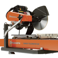 Husqvarna Tile Saw — 1 1/2 HP, Model# Tilematic TS 250 X3