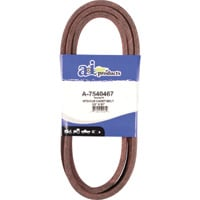 A & I Products V-Belt with Polyester Cord — 90 1/2in.L x 5/8in.W, Model# A-7540467