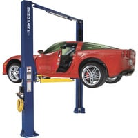 FREE SHIPPING — BendPak Dual-Width 2-Post Asymmetric Car Lift — 10,000-Lb. Capacity, Gray, Model# XPR-10AS