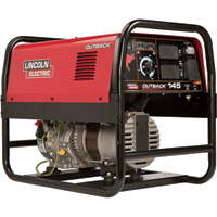FREE SHIPPING - Lincoln Electric Outback 145 Welder Generator with Kohler Engine - 125 Amp DC, 4,250 Watt AC Power, Model# K2707-2
