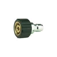 NorthStar Ball-Type Pressure Washer Quick Coupler Nipple — 22mm Inlet Size, 4000 PSI