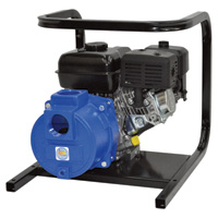 IPT Cast Iron Self-Priming Semi-Trash Water Pump — 2in. Ports, 6,600 GPH, 3/8in. Solids Capacity, 127cc Briggs & Stratton 550 Series Engine, Model# 2GS4ACB