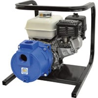 IPT Cast Iron Self-Priming Trash Water Pump — 2in. Ports, 11,000 GPH, 1in. Solids Capacity, 160cc Honda GX160 Engine, Model# 2TS5HCB