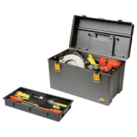 Plano 22in. Deep Power Tool Box with Tray, Model# 701-001