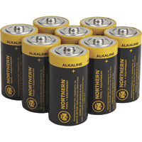 Northern Tool + Equipment C-Cell Alkaline Batteries — 8-Pk.