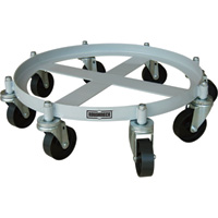 Roughneck Drum Dolly — 2,000-Lb. Load Capacity, 8-Wheel