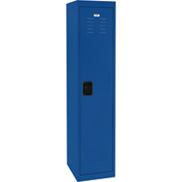 Sandusky Lee Welded Steel Storage Locker — Single Tier, 15in.W x 18in.D x 66in.H