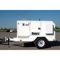 Flagro USA Self-Contained Heater Trailer — 390,000 BTU, Diesel, Model# FVO-400TR