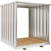 West Galvanized Steel Storage Container Extension Kit — 7Ft., Model# Ex83
