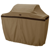 Classic Accessories Hickory Heavy-Duty Grill Cover — Large, 64in.L x 24in.D x 48in.H, Model# 55-042-042401-00