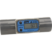FREE SHIPPING — GPI Digital Water Meter — 1 1/2in. Inlet/Outlet, Model# TM150-N