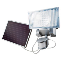 Maxsa LED Motion Activated Solar Light — 100 LEDs, 420 Lumens, Model# 44449