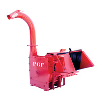 PGF PTO Wood Chipper — 6in. Capacity, Model# WCP600