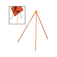 Dicke Tripod for Roll-Up Signs, Model# T55