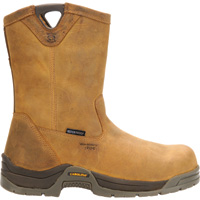 Carolina 10in. Waterproof Composite Toe Wellington Boots — Brown, Model# CA2520