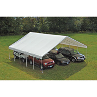 ShelterLogic Ultra Max Industrial Outdoor Canopy — 30ft.L x 30ft.W x 13ft.H, Model# 27772
