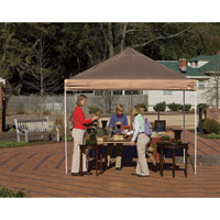 ShelterLogic Pro Series Pop-Up Canopy — 10ft. x 10ft., Open Top, Straight Leg