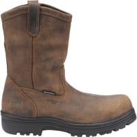 Carolina 10in. Waterproof Composite Toe Wellington Boots — Brown, Model# CA2533