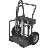 Northern Industrial Welders Cylinder Torch Cart with Fork Pockets - 440-Lb. Capacity, Foam-Filled Wheels, Powder-Coat Finish