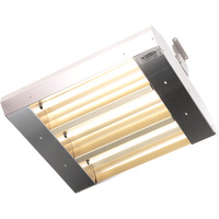 TPI THSS Series Mul-T-Mount Electric Indoor/Outdoor Quartz Infrared Heater — 16,382 BTU, 240 Volts, Stainless Steel, Model# 223-60-THSS-240V