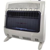 FREE SHIPPING — Mr. Heater Vent-Free Blue Flame Garage/Workshop Wall Heater — Natural Gas, 30,000 BTU, Model# MHVFG30TB NG