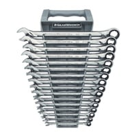 Extra-Long Gearwrenches — 16-Pc. Metric Set, Model# 85099