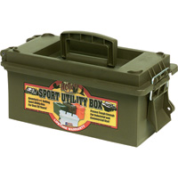 Sport Utility Dry Box - 6 1/2in.L x 15in.W x 8in.D, Without Tray, Green, Model# 560113