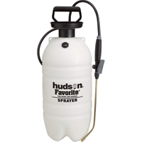 Hudson Favorite Poly Portable Sprayer — 2 1/2-Gallon Capacity, 40 PSI, Model# 30193