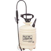Hudson Deck and Fence Poly Portable Sprayer — 2-Gallon Capacity, 40 PSI, Model# 67992