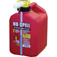 No-Spill Gas Can — 2 1/2-Gallon, Model# 1405