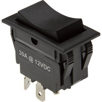 Glideforce Rocker Reversing Switch — 30 Amp Maintained Contacts, Model# SWT-ROC-4W