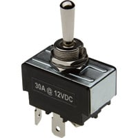 Glideforce Toggle Reversing Switch — 30 Amp Maintained Contacts, Model# SWT-TOG-4W