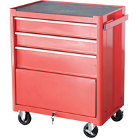 Excel Steel Roller Tool Cabinet — 3-Drawer, Model# TB2060BBSB