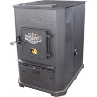 United States Stove Company Multifuel Furnace — 105,000 BTU, Model# 8500