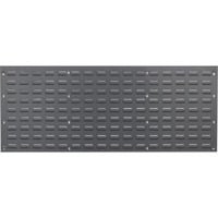 Quantum Storage Louvered Panel — 48in.W x 19in.H, Model# QLP-4819