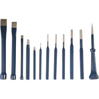 Klutch Punch & Chisel Set — 12-Pc.