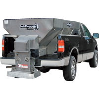 Salt Dogg Electric Stainless Steel Hopper Spreader — 1.5 Cu. Yard Capacity, Model# 1400701SS