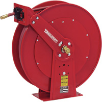 Reelcraft Air/Water Hose Reel — With 3/8In. x 100ft. PVC Hose, Max. 300 PSI, Model# 81100 OLP