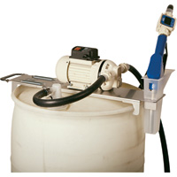 LiquiDynamics DEF Drum Topper with Automatic Shutoff — Stainless Steel Nozzle, 115 Volt AC, Model# 33115-S1A
