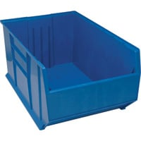 Quantum Rack Bin — Blue, 41 7/8in.L x 23 7/8in.W x 17 1/2in.H, Model# QRB246BL