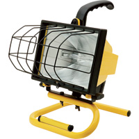 Ironton Halogen Worklight — 500 Watts, 8000 Lumens