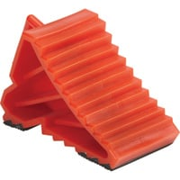 Ironton Plastic Wheel Chock — 7 1/8in.L x 3 1/8in.W x 4in.H
