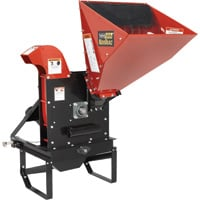 NorTrac PTO Chipper — 5 1/2in. Capacity