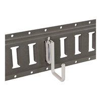 Buyers Square J-Hook for E-Track System — 3/8 in. x 2 in. Inside Dia., Model# 01130