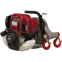 Portable Winch Gas-Powered Capstan Winch — 1550-Lb. Pulling Capacity, 1.34 Honda GX-35 Engine, Model# PCW3000