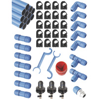 RapidAir 1in. FastPipe Master Kit — 100-Ft. Kit with 3 Outlets, Model# F28100