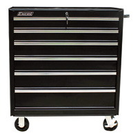 Excel 36in. Steel Tool Cabinet — Bottom Roller, Model# TB2608-X