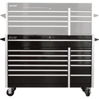 Excel 56in. Steel Tool Cabinet — Bottom Roller, Model# TB5607X-B