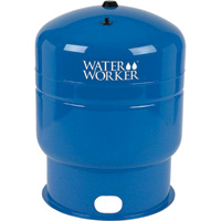 Water Worker Vertical Pressurized Well Tank — 119-Gallon Capacity, Equivalent to a 315-Gallon Capacity Tank, Model# HT-119B